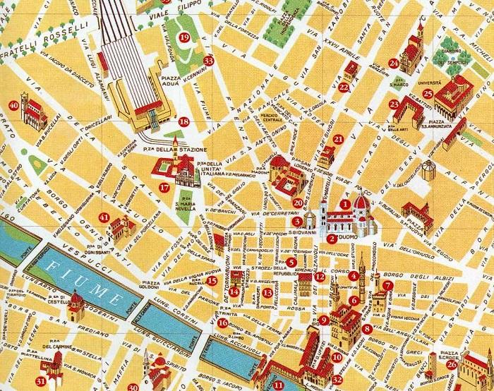 Cartina Citta Firenze.Archivi In Toscana Introduzione L Azienda Autonoma Del Turismo